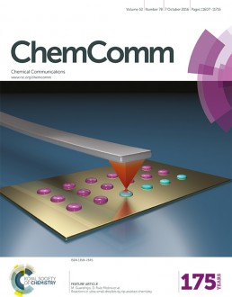 ChemComm Cover Oct 2016